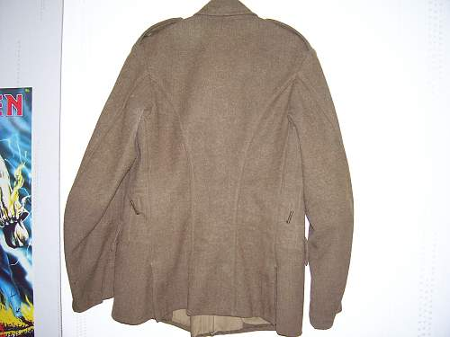 my latest find ww1 era british tunic