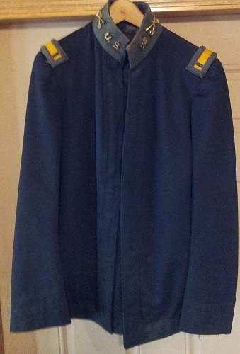 1913 US Officer's Coat John G Haas 3rd Cavalry