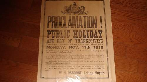 1918 Nov 11th Poster, not what it appears to be,