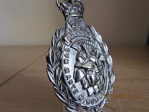 'Artists Rifles' Cap Badge
