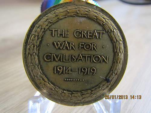 World War 1 Victory Medal