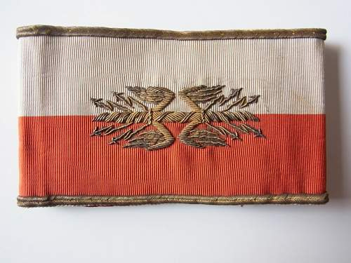 French  General Staff armband