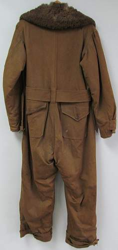 Sidcot Flying Suit - Some advice if I could