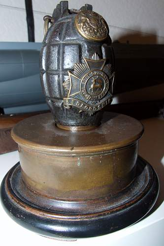 A nice piece of trench art
