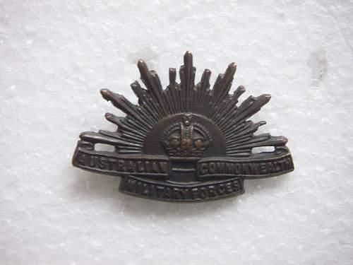 Small WW1 Australian lot