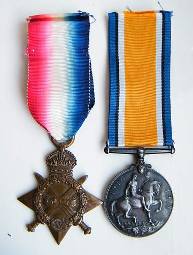 Royal Welsh Fusiliers broken trio R. Luke