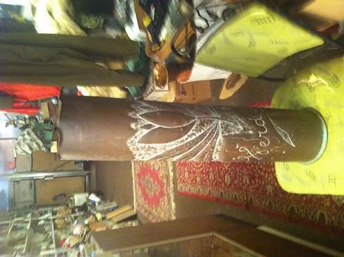 Ww1 trenchart marked verdun