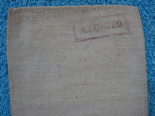 Royal Flying Corps air drop message streamer