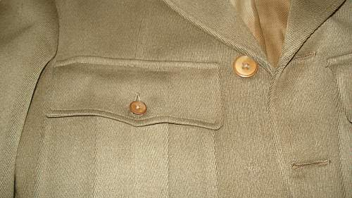 WW1 Canadian Officers Tunic