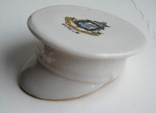 Crested ware service dress cap