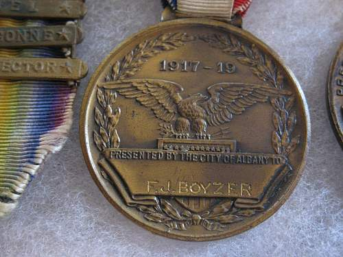 My WWI US medals