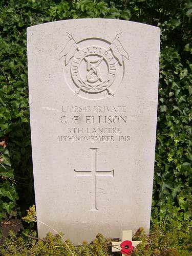 Last Soldier to Perish in the Great War
