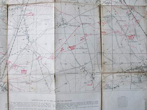 Trench maps and  Google Earth
