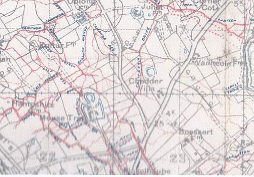 More trench maps