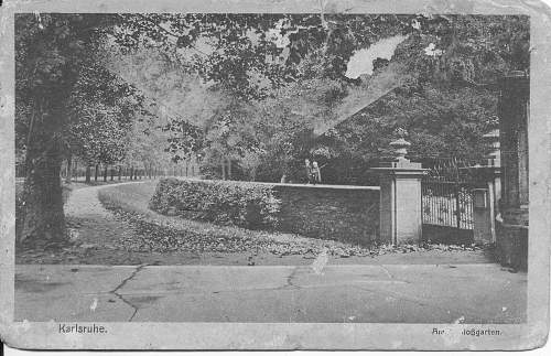 WWI period postcards