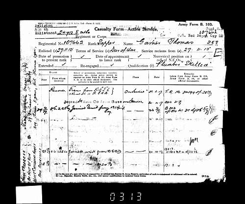 Can anyone help me find out a little about my Great Grandad