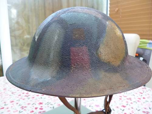 opinions please on this m17 doughboy camo helmet!!!!!
