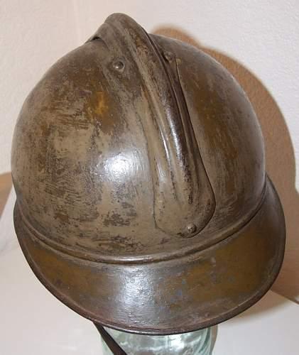 French Model 1915 Colonial Helmet