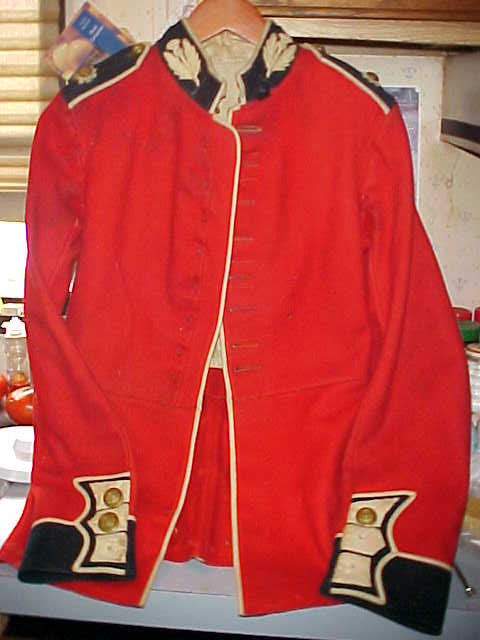 Need Help Bristish Scots Guard Red Coat Tunic