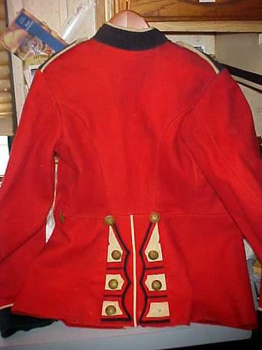 Bristish Scots Guard Red Coat Tunic
