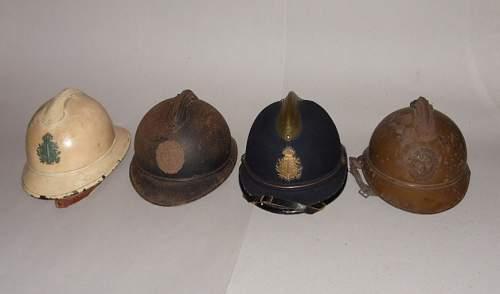 Belgian WW1 helmet ?