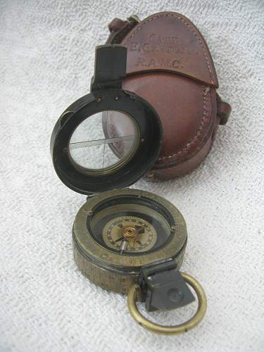 British Marching Compass R.A.M.C