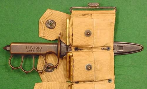 The U.S. M1918 Mk. I Trench Knife Thread.