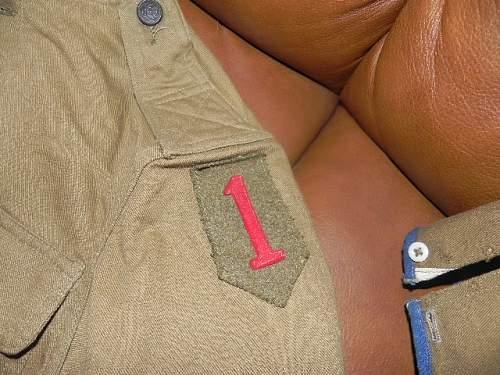 US Big Red One Uniform