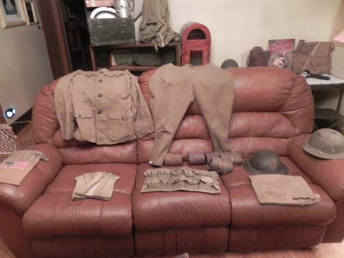 Click image for larger version.  Name:WW1 Items and New things as of 3 29 003.JPG Views:32 Size:145.1 KB ID:668376