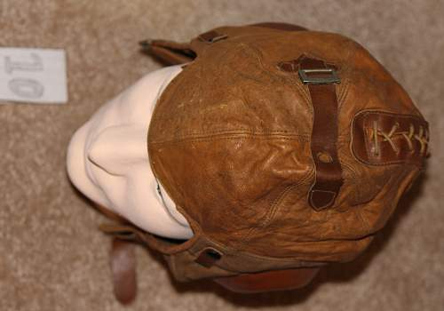 Some assistance with Western Electric No 1-A Flying Helmets