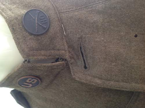 WW1 U.S  G.H.Q tunic