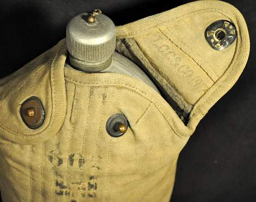 2 Canteens-1 unit marked & trouser belt