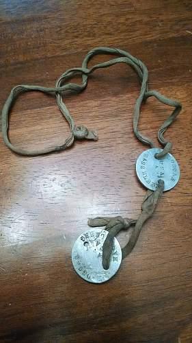 WW1 US Dog Tags opinion needed