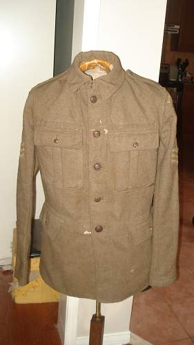 "My ""NEW"" WW1 2 Canadian Mounted Rifles Tunic with all insignia"