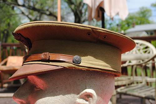WW1 US Army Officers Hat