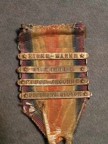 WW1 France and US Victory Medals