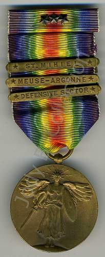 WWI US Purple Heart Grouping