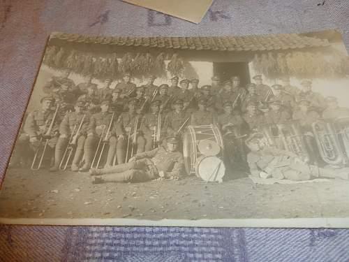 Premature CEF Memorial Card 116th Battn , Familiy Group WW1 and WW2