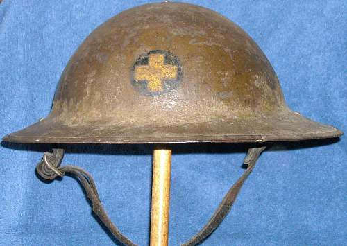 33rd Illinois infantry M1917 helmet