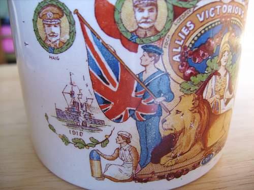 WW1 peace mug