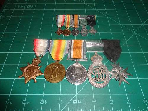 One of a Kind Group of WW1 Canadian Medals!!!