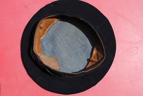WW1 Navy Pancake Hat