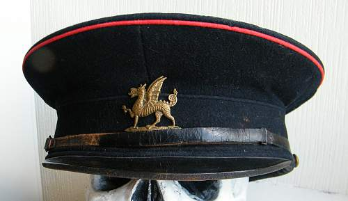 2nd BN Monmouthshire Regiment OR's cap 1909