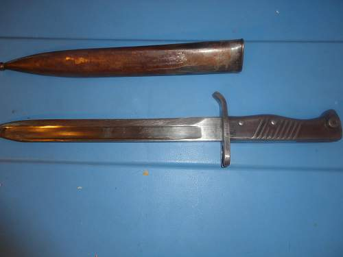 German Bayonet, Canadian Trophy, VIMY RIDGE