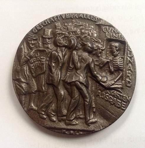Lusitania Medal type help