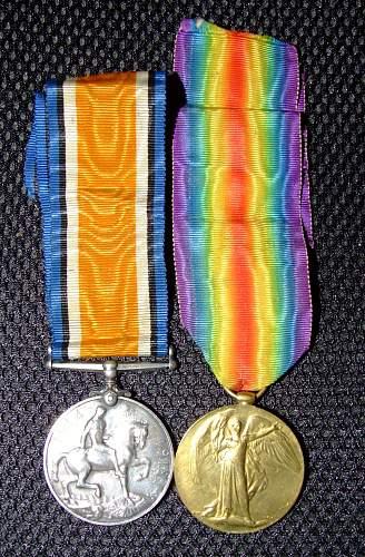 Medals found on Warrington market