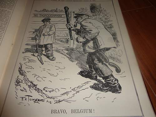 July 1914-Dec 1918, or the War By Punch.