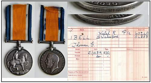 Great war medals