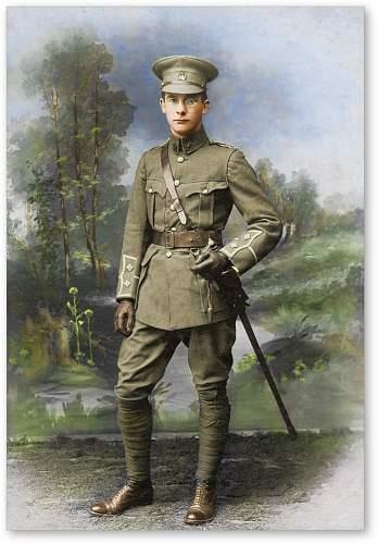 Royal Artillery Lieutenant Tunic