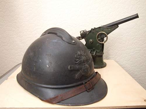 Adrian helmet from my collection